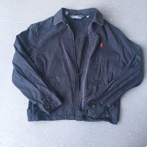 Navy blue Ralph Lauren polo Harrington jacket